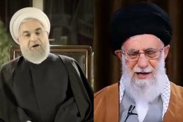 پیام نوروزی حسن روحانی و خامنهای