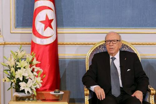 تصویر آقای اِسِبسی رئیس جمهور فقید تونس