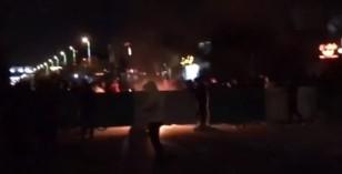 سنگربندی شبانه در خیابانهای مشهد